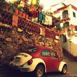 Oaxaca - Petite voiture typique du Mexique