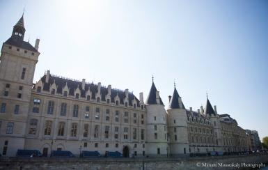 Paris - La conciergerie au cœur de l'île de la Cité