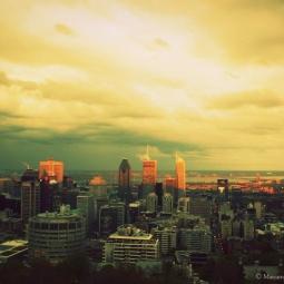 Montréal - Vue du Belvédère Kondiaronk
