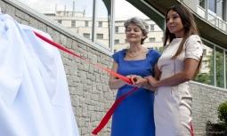 Visite officielle de la première dame d'Azerbaïdjan