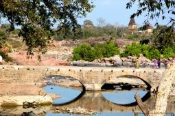 Inde - Miroir de pont
